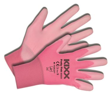 Tuinhandschoen pretty pink maat 9