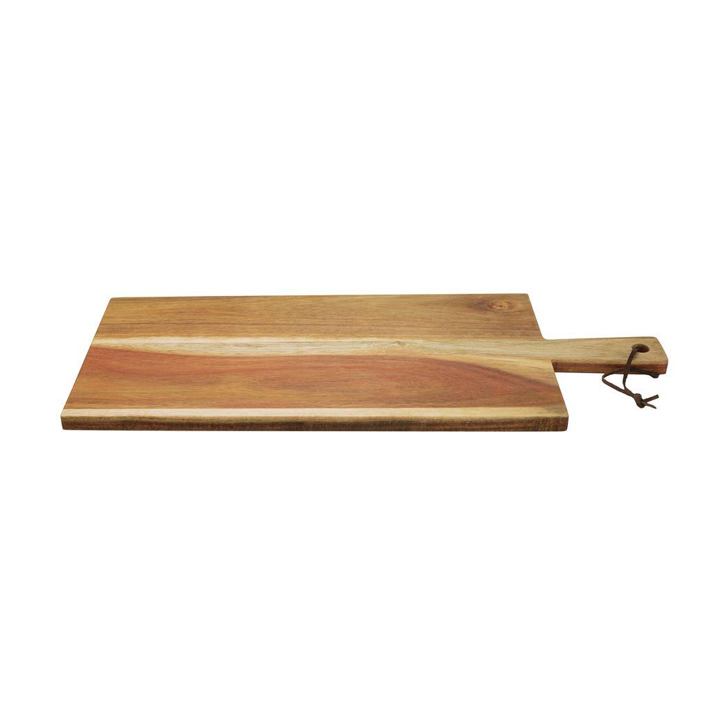 Dagelijkse Kost serveerplank met handvat uit acaciahout 50cm