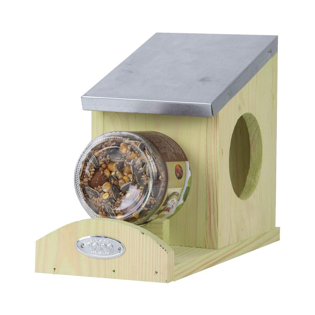 Esschert Design Eekhoorn pindakaas voederhuis