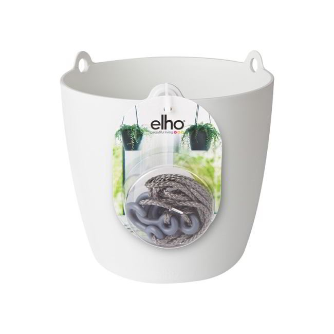 Elho Brussels hangschaal 18cm  wit