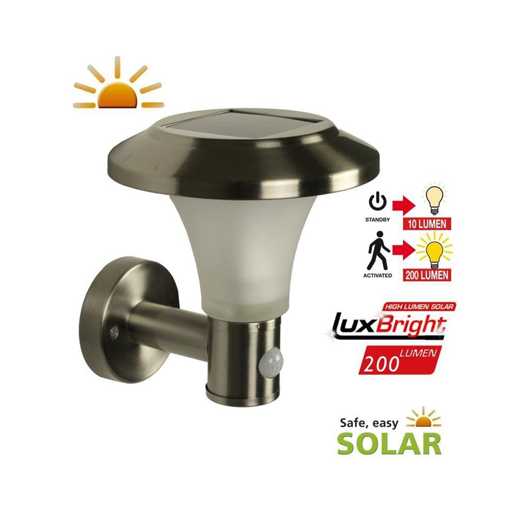 Luxform Solar wandlamp Calais 10/200 Lumen