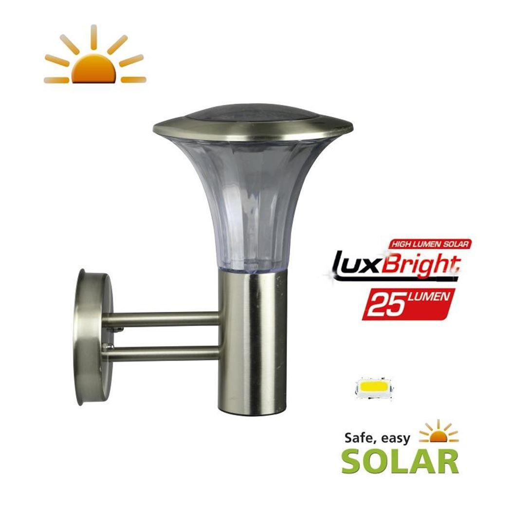 Luxform Solar wandlamp Reims 25 Lumen