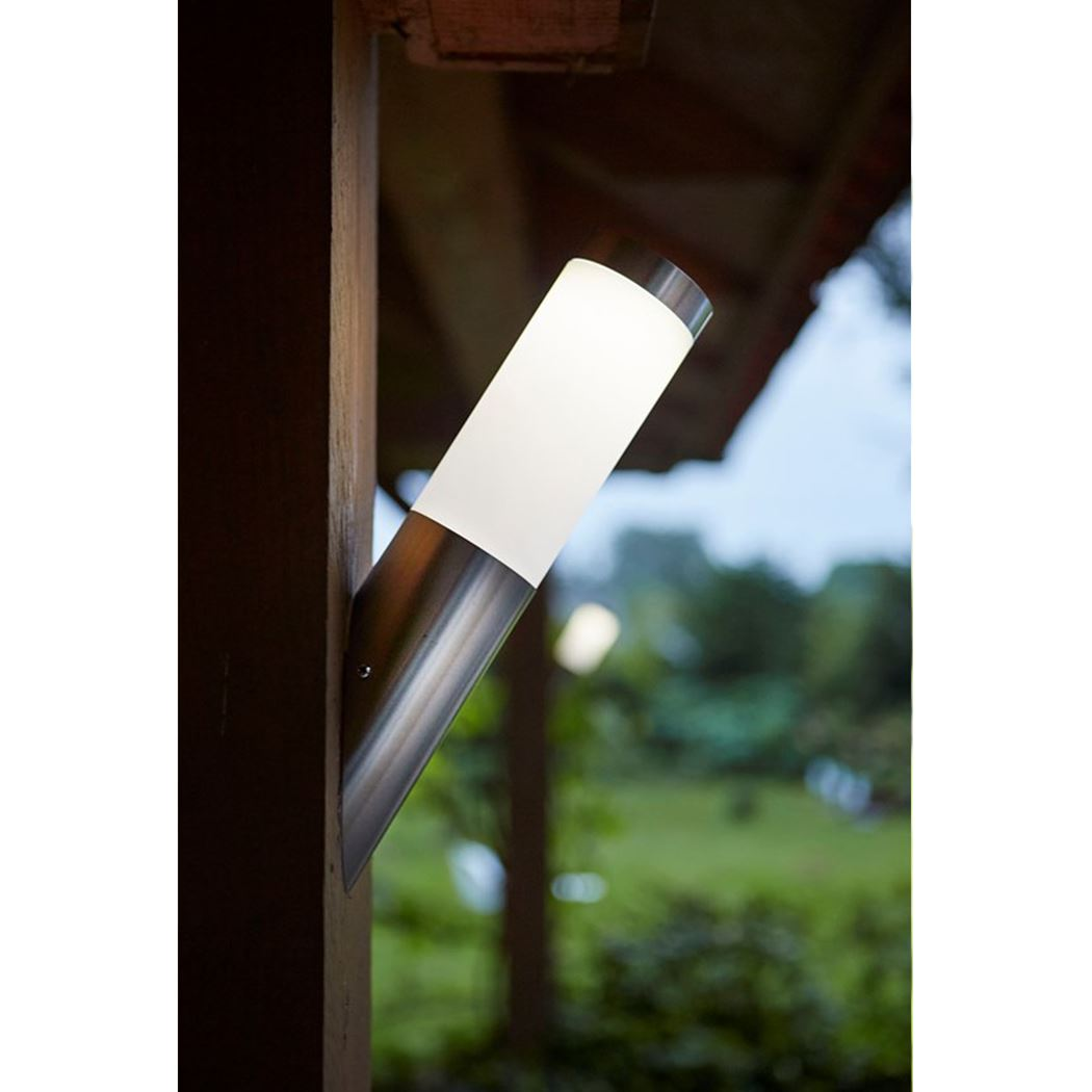 Luxform Solar wandlamp Idaho schuin 10 Lumen