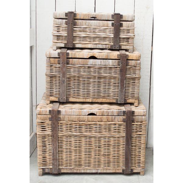 Koffer rotan l90b64h57cm mt3