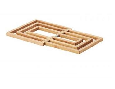 Bamboo Potonderzetter, 19x19x1,2cm