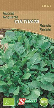 Somers Rucola 'Cultivata' (Bio)