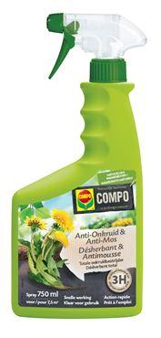 Compo Bio Anti-Onkruid & Anti-Mos Spray