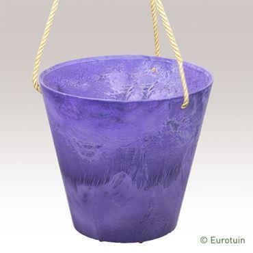 Artstone Claire Hangpot grape 22 cm