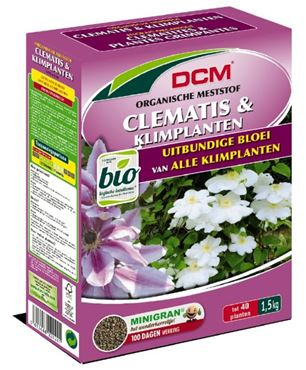 Meststof Clematis & Klimplanten 1,5 kg - BIO