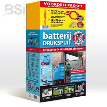 Voordeelpakket Batterijdrukspuit met toebehoren