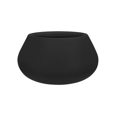 Pure cone bowl 60  zwart