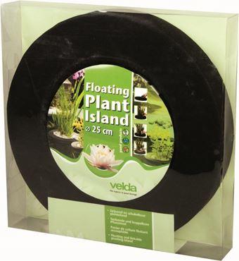 Floating plant island round 25 cm