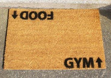 Deurmat Gym addict