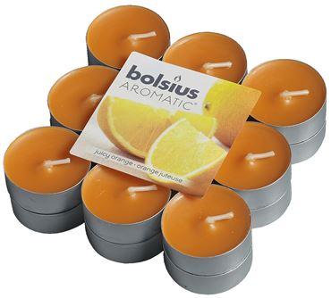 Bolsius Geurlichten blokverpakking 18 Juicy Orange