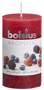 Bolsius Geurstompkaars rustiek  Berry Delight