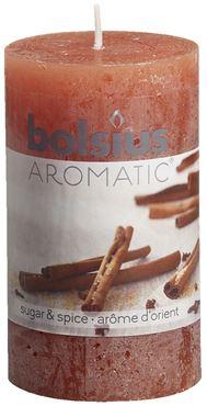 Bolsius Geurstompkaars rustiek  Sugar & spice