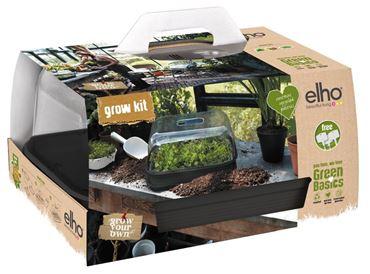 Elho Green Basics Kweekkit Allin Zwart
