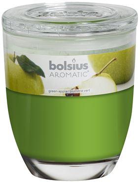 Bolsius Groot Ovaal geurglas Green apple