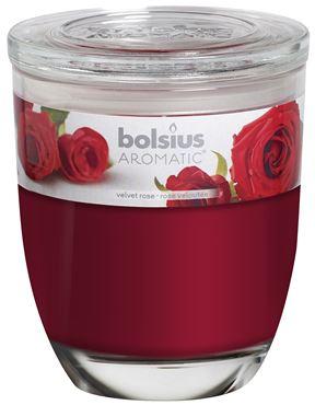 Bolsius Groot Ovaal geurglas Velvet rose