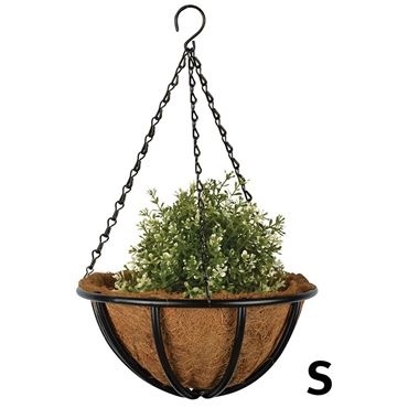 Metalen hanging basket 25cm