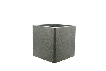 IQbana Pot Vierkant 32 cm Grijs - Sierpot