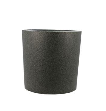 IQbana Pot Rond 39 cm Zwart - Sierpot