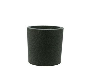 IQbana Pot Rond 25 cm Zwart - Sierpot