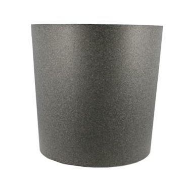 IQbana Pot Rond 25 cm Grijs - Sierpot
