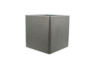 IQbana Pot Vierkant 39 cm Grijs - Sierpot