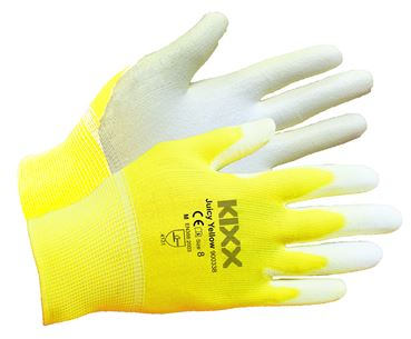 Tuinhandschoen juicy yellow maat 8