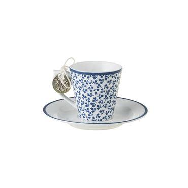 Laura Ashley Espresso tas met schotel Floris
