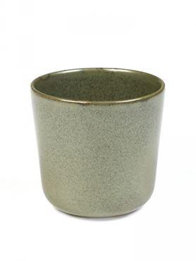 Set van 4 Mugs Surface Zonder Oor Camogreen - Giftbox