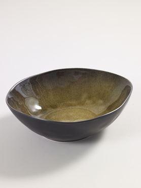 Set/2 Kom Ovaal Large Groen Pascale Naessens Servies Pure