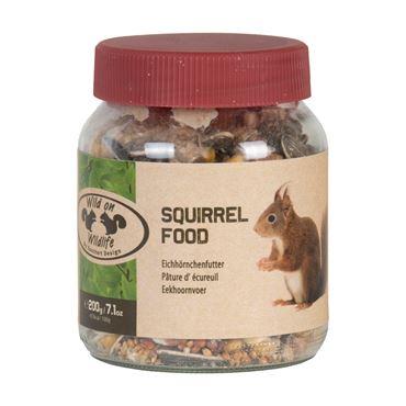 Pindakaas voor eekhoorns