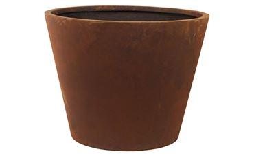 Pot Unique Rust D42 H30