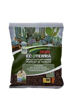 DCM Ecoterra® Cactussen, Vet- & Rotsplanten 2,5 L - BIO