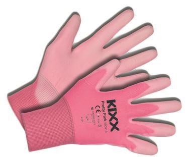 Tuinhandschoen pretty pink maat 8