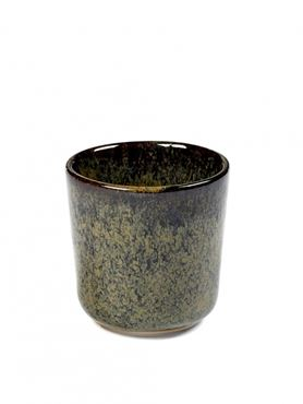 Set van 4 Ristretto Mugs Surface Zonder Oor Indi Grey - Giftbox
