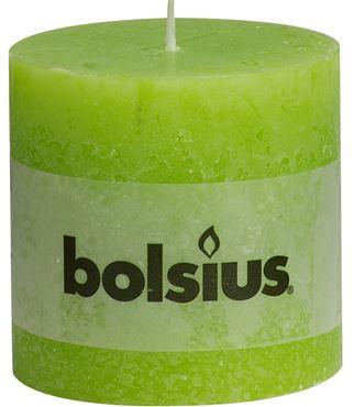 Bolsius Rustiek stompkaars Lime