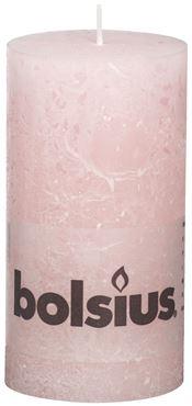 Bolsius Rustiek stompkaars Pastel roze