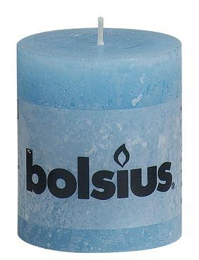 Bolsius Rustiek stompkaars Aqua