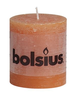 Bolsius Rustiek stompkaars Oranje