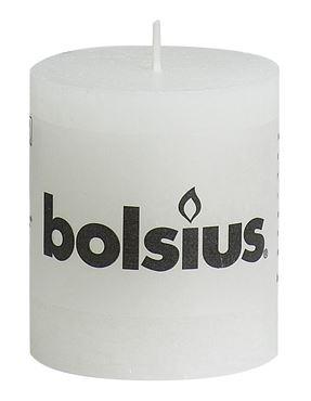 Bolsius Rustiek stompkaars Wit
