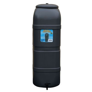 Regenton Slimline 100 Liter Antraciet 38 X 38 X 94 Cm
