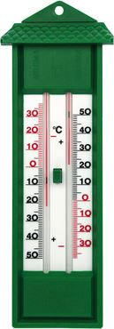 Thermometer min/max groen l32cm