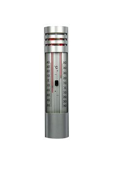 Thermometer min/max metaal l32cm