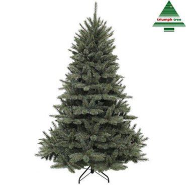 Triumph Tree Forest frosted Newgroth h230cm Blauwgroen Kunstkerstboom