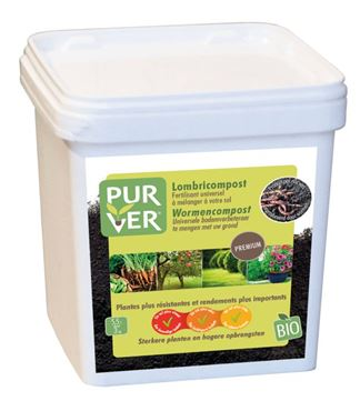 Wormencompost - emmer 3kg